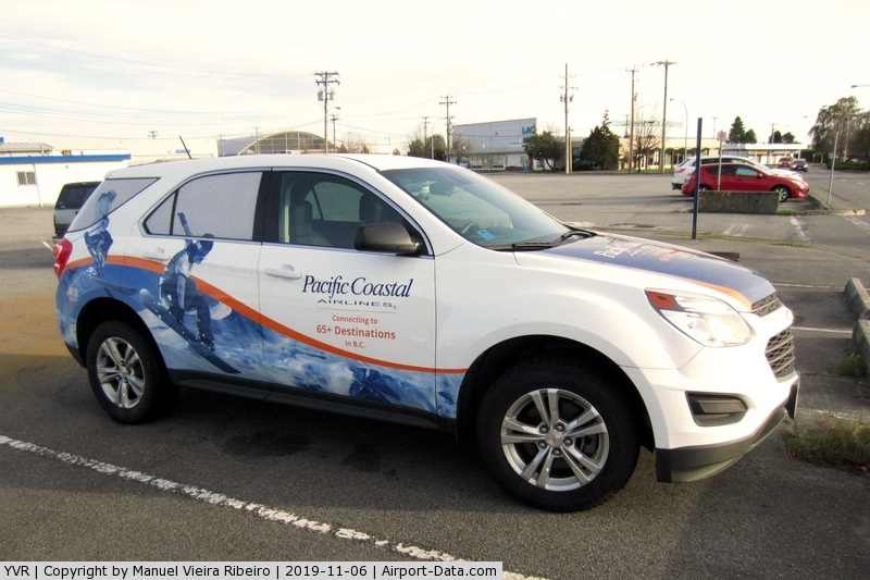 Vancouver International Airport, Vancouver, British Columbia Canada (YVR) - Company vehicle.
