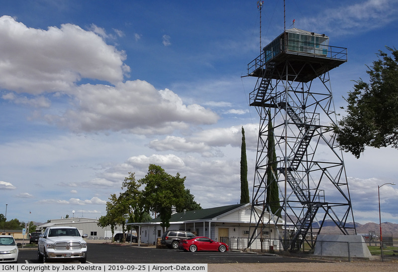Kingman Airport (IGM) - Tower of Kingman airport AZ