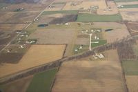 Tropria Airport (IN62) - Air view of Tropria, looking North. - by Unknown