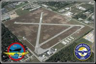 Smith Field Airport (SMD) - SMD from the South-East. - by Unknown