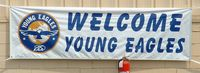 Smith Field Airport (SMD) - EAA Chapter Two Young Eagles Banner - by Kim Walker