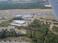 Leesburg Executive Airport (JYO) - Great little airport terminal with nice viewing terrace - by Robin Beesley