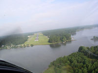 Baldwin County Airport (MLJ) - On final over the water - by Michael Martin