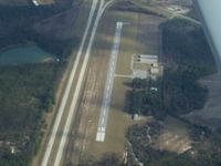 Metter Municipal Airport (MHP) - Metter Muni Airprt - Don't confuse the Interstate for the runway! - by Michael Martin