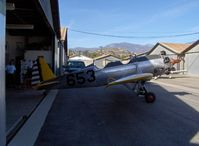 Santa Paula Airport (SZP) - Aviation Museum of Santa Paula, Hangar 4, The Richards hangar - by Doug Robertson