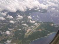 Saipan International Airport (Francisco C. Ada), Saipan Island Northern Mariana Islands (PGSN) - Saipan Island, Northern Mariana Islands. - by John J. Boling