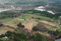 Merrymeeting Field Airport (08B) - DW for RW14, Merrymeeting, Bowdoinham, ME - by Lawreston/Distinctive Views