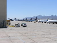 Phoenix Goodyear Airport (GYR) - Airliners returning to service from storage - by John J. Boling