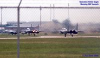 Langley Afb Airport (LFI) - An awe-inspiring sight, the Combat Air Patrol launch.  God Bless our airmen - by Paul Perry