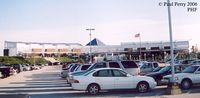 Newport News/williamsburg International Airport (PHF) - Terminal seen from the primary parking lot - by Paul Perry