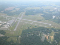 Richard B Russell Airport (RMG) - in the pattern for rwy 01 - by David McClendon