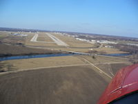 Chicago/rockford International Airport (RFD) - Turning final Runway 1 - by Mark Pasqualino