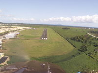 Humacao Airport (X63) - Approach to runway 10 at Humacao PR - by karen Webster