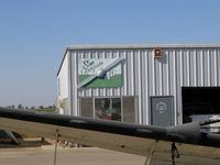 Kingdon Airpark Airport (O20) - San Joaquin Air shop on Lodi-Kingdon Airport, CA - by Steve Nation