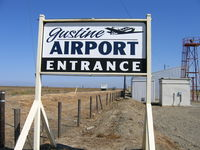 Gustine Airport (3O1) - Welcome sign at Gustine Airport, Merced County, CA - by Steve Nation