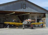 Santa Paula Airport (SZP) - Aviation Museum of Santa Paula, Hangar #4, The Richards Hangar - by Doug Robertson