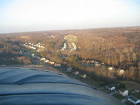 Potomac Airfield Airport (VKX) - Final Approach to Rwy 06 - by Keith Monteith