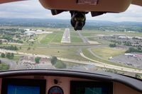 Lehigh Valley International Airport (ABE) - Approach to 31 at Allentown, PA - by Glenn Long