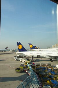 Frankfurt International Airport, Frankfurt am Main Germany (FRA) - Frankfurt Main - by Glenn Long