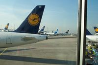 Frankfurt International Airport, Frankfurt am Main Germany (FRA) - Lufthansa Alley - by Glenn Long
