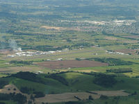 Ardmore Airport, Auckland New Zealand (NZAR) - Ardmore airfield as seen on approach to rwy 23 Auckland Intl. - by Graeme Thompson