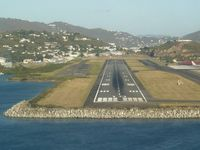 Cyril E King Airport (STT) - Cyril E. King approach (St. Thomas) closer! - by rich gessert
