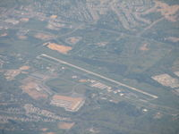 Winchester Regional Airport (OKV) - Another not so clear shot of Winchester on my way to St Louis - by Sam Andrews