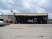Watertown Municipal Airport (RYV) - Paint Shop - by Mark Pasqualino