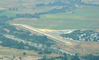 Rancho Murieta Airport (RIU) - Rancho Murieta from SE - by Ken Freeze