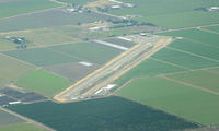 Kingdon Airpark Airport (O20) - Kingdon from the NW - by Ken Freeze