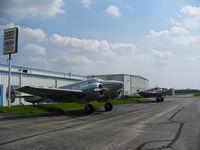 Southern Wisconsin Regional Airport (JVL) - Blackhawk Aircraft Maintenance tiedown ramp - by Mark Pasqualino