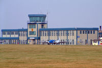 Oxford Airport, Oxford, England United Kingdom (EGTK) - Oxford (Kidlington) Control Tower - by Les Rickman