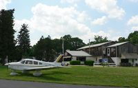 Sky Manor Airport (N40) - Sky Manor Airport is one of two serving Pittstown, NJ, in the rolling hills of Hunterdon County. - by Daniel L. Berek