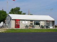 Morris Municipal - James R. Washburn Field Airport (C09) - Main Terminal - by Mark Pasqualino