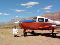 Marble Canyon Airport (L41) - N5105R In the Grand Canyon at Marble Canyon - by John Franich