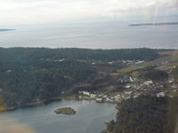 Orcas Island Airport (ORS) - East Sound One of the best places on Earth - by John Franich