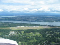 Tacoma Narrows Airport (TIW) - From N6545R - by John Franich
