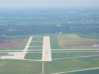 Southern Wisconsin Regional Airport (JVL) - Final approach Runway 32 - by Mark Pasqualino