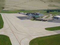 Southern Wisconsin Regional Airport (JVL) - Main Terminal and ramp - by Mark Pasqualino