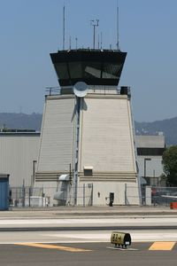 Santa Monica Municipal Airport (SMO) - Control Tower at Santa Monica Municipal Airport (KSMO) - Santa Monica, California. - by Dean Heald