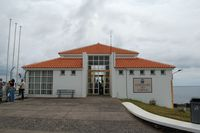 Corvo Airport - The tiny aiport building on the island of Corvu (landside) - by Micha Lueck