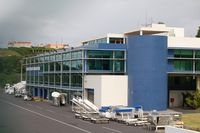 Horta Airport - The airport of Horta on the island of Faial, Azores - by Micha Lueck