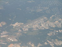 Hanover County Municipal Airport (OFP) - On descent into BWI - by Sam Andrews