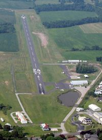 Gettysburg Regional Airport (W05) - View of the Business End of Gettysburg. - by Stephen Amiaga