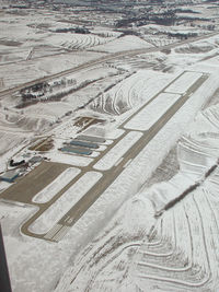 Plattsmouth Municipal Airport (PMV) - PMV in Winter - by William H. Maxey
