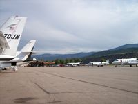 Aspen-pitkin Co/sardy Field Airport (ASE) - General Aviation Ramp - by Mark Pasqualino