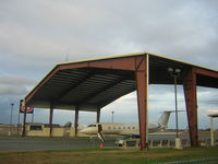 Monmouth Executive Airport (BLM) - the terminal - by William Hughes