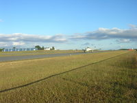 Monmouth Executive Airport (BLM) - runway - by William Hughes