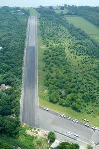 Mattituck Airport (21N) - And...from the north end, without the numbers 19 in the foreground. - by Stephen Amiaga