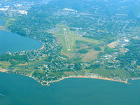 Tweed-new Haven Airport (HVN) - New Haven from 4500' - by Stephen Amiaga